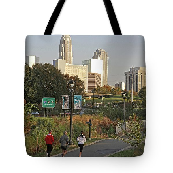 Runable Charlotte Tote Bag by Kevin McCarthy