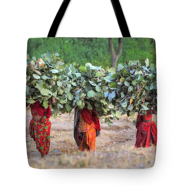 rural Rajasthan Tote Bag