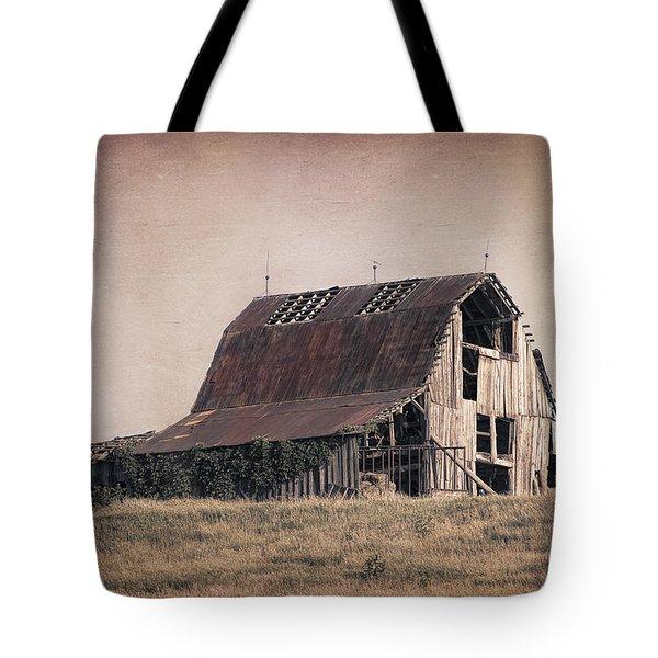 Rustic Barn Tote Bag