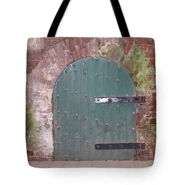 Rustic Entry  Tote Bag by Christy Pooschke
