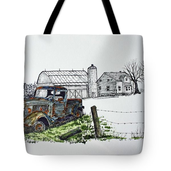 Rusting Away Tote Bag by Jack G  Brauer