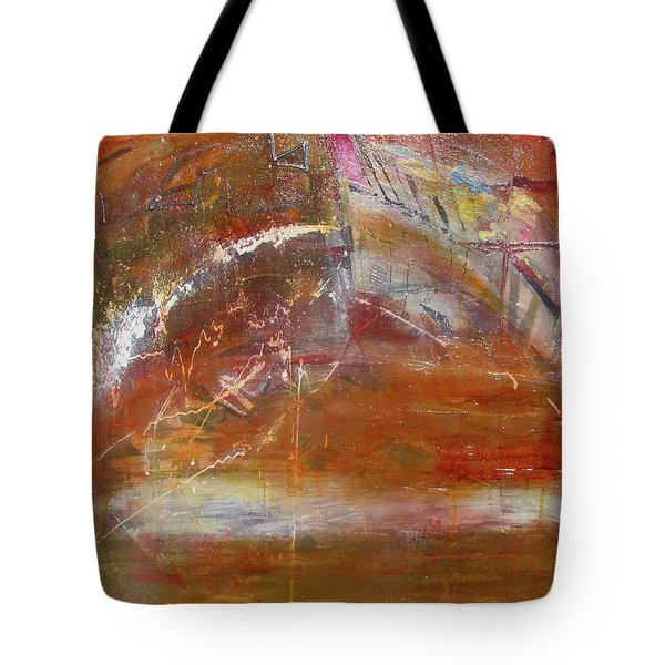 Rusty Rainbow Tote Bag