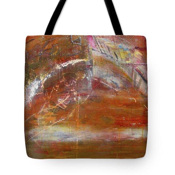 Rusty Rainbow Tote Bag
