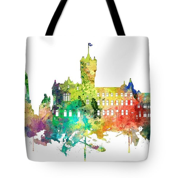 Rutherglen Scotland Skyline Tote Bag