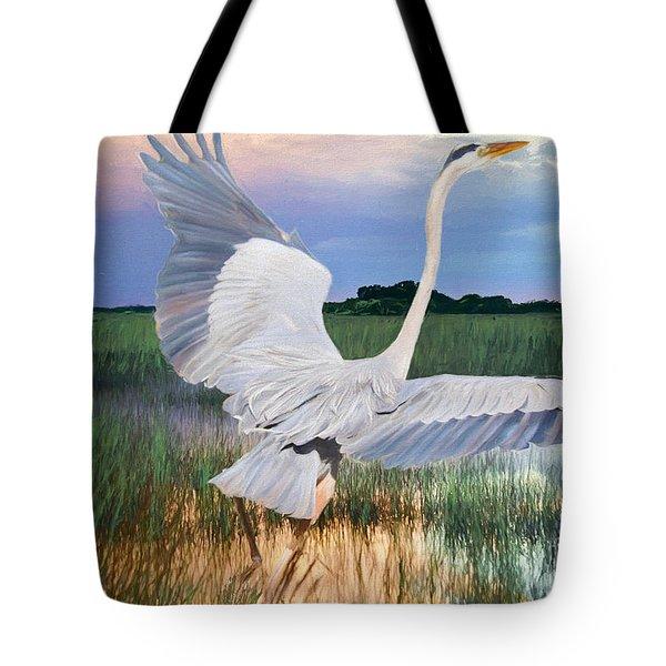 Sail Into Sunset Tote Bag
