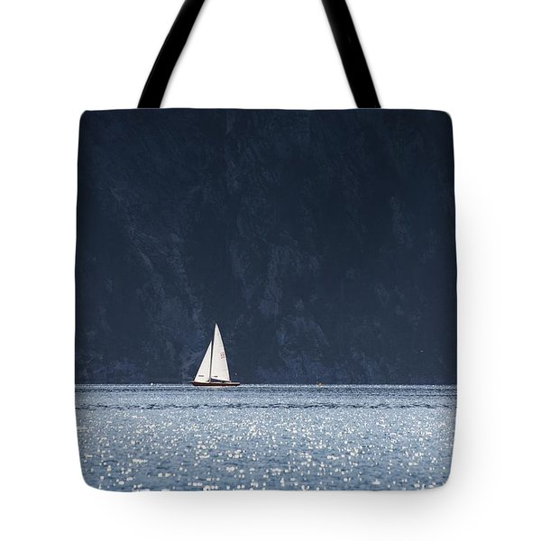 Sailboat Tote Bag by Chevy Fleet