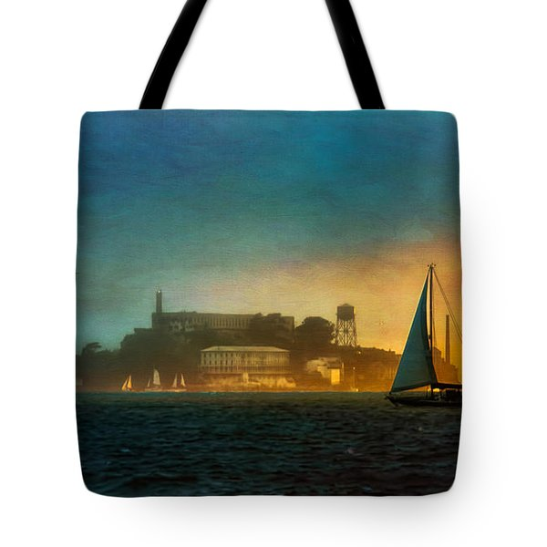Sailing By Tote Bag