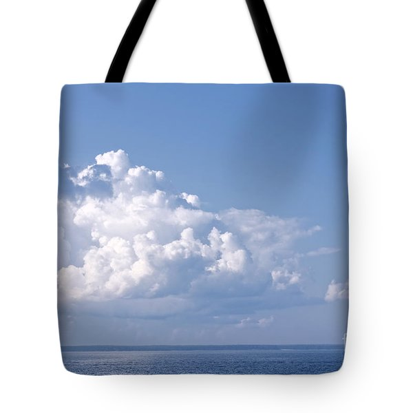 Sailing Tote Bag by Charline Xia