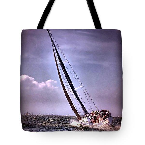 Sailing To Nantucket 003 Tote Bag