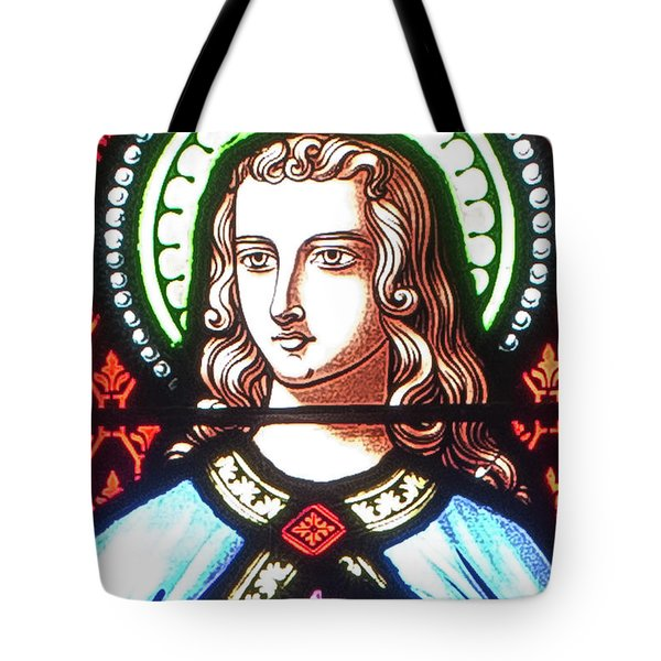 Saint Anne's Windows Tote Bag