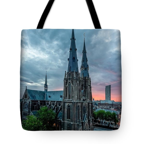 Saint Catherina Church In Eindhoven Tote Bag