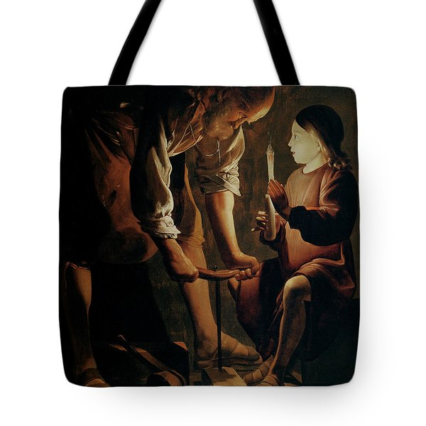 Saint Joseph The Carpenter  Tote Bag