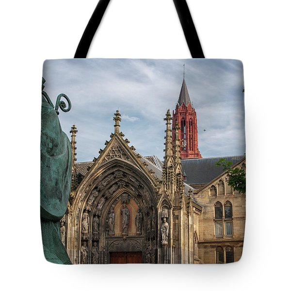 Saint Servaes And Saint Johns Tote Bag