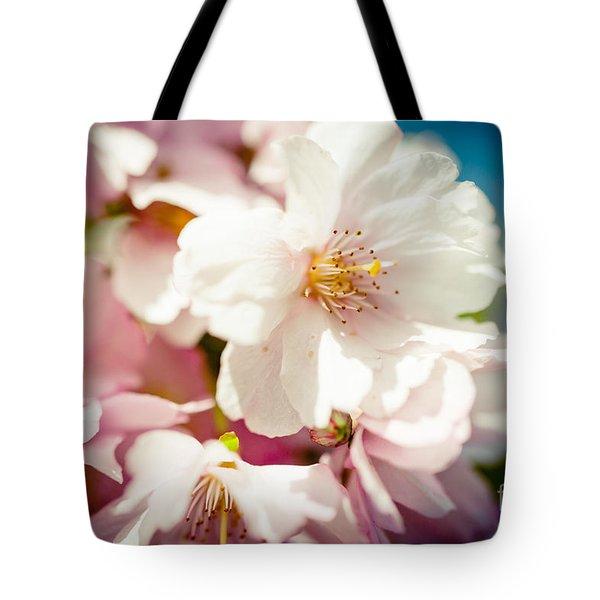 Sakura Blossoms Pink Cherry Artmif.lv Tote Bag