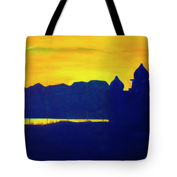 Saltair Sunset Tote Bag