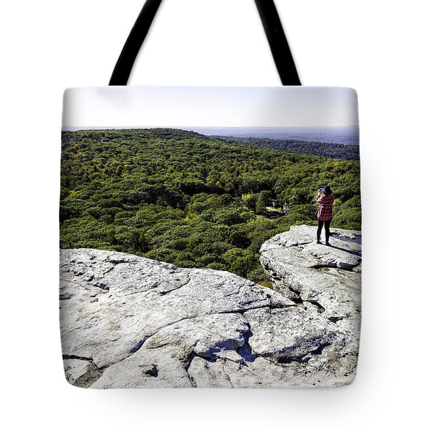 Sams Point Overlook Tote Bag