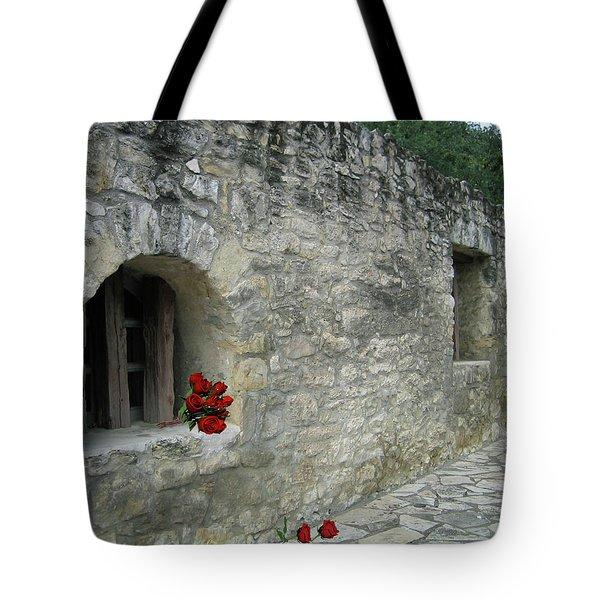 San Antonio Rose Tote Bag