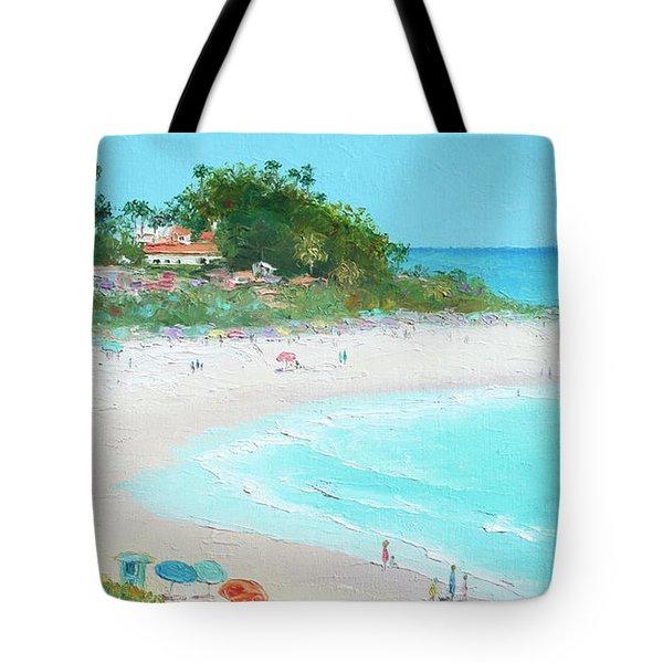 San Clemente Beach California Tote Bag by Jan Matson