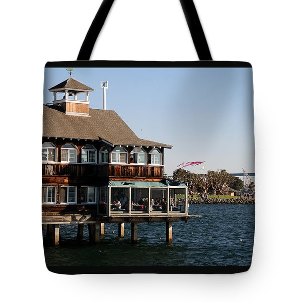 San Diego Bay Tote Bag by Christopher Woods