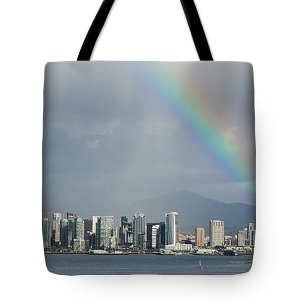 Tote Bag featuring the photograph San Diego by Dan McGeorge