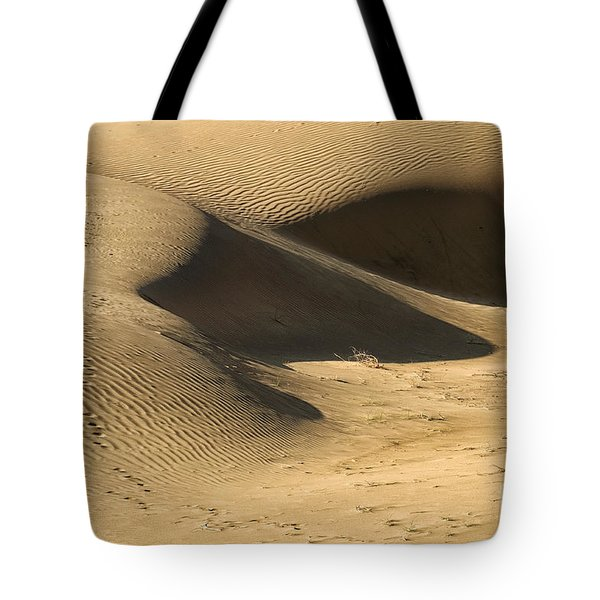 Tote Bag featuring the photograph Sand Dune by Yew Kwang
