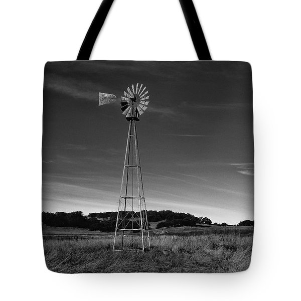 Santa Rosa Plateau Windmill Tote Bag