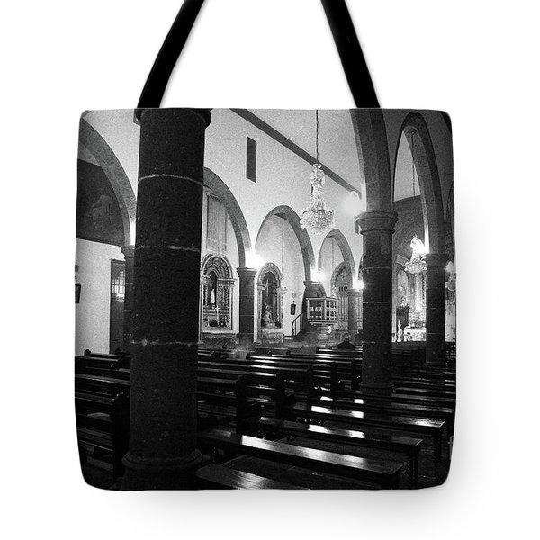 Sao Miguel Arcanjo Church Tote Bag by Gaspar Avila