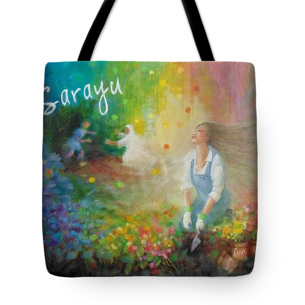 Sarayu Tote Bag by Janet McGrath