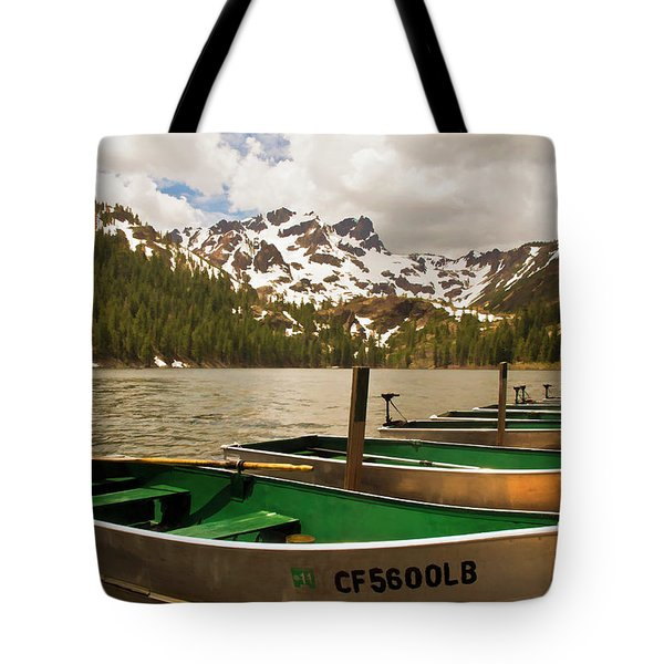 Sardine Lake Tote Bag