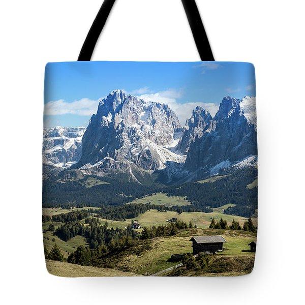 Sasso Lungo And Sasso Piatto Tote Bag