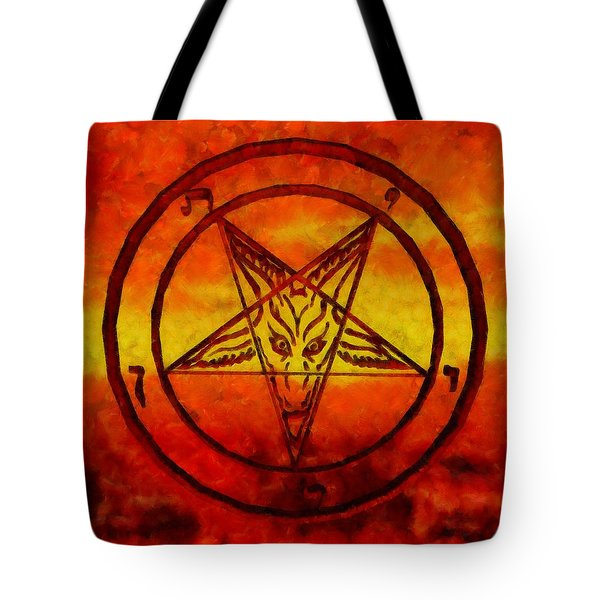 Satanism Tote Bag