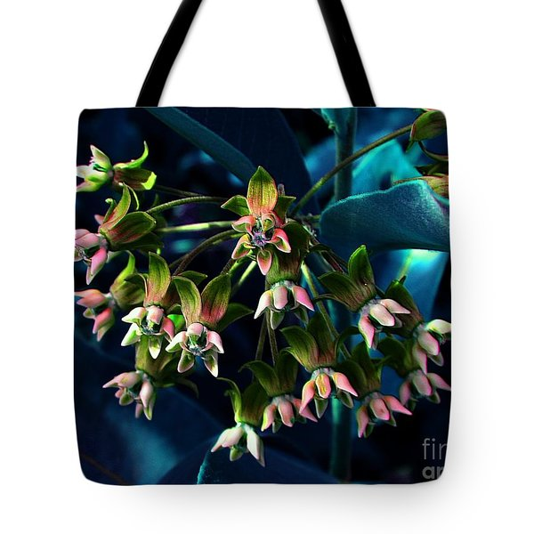 Satin Tote Bag by Elfriede Fulda