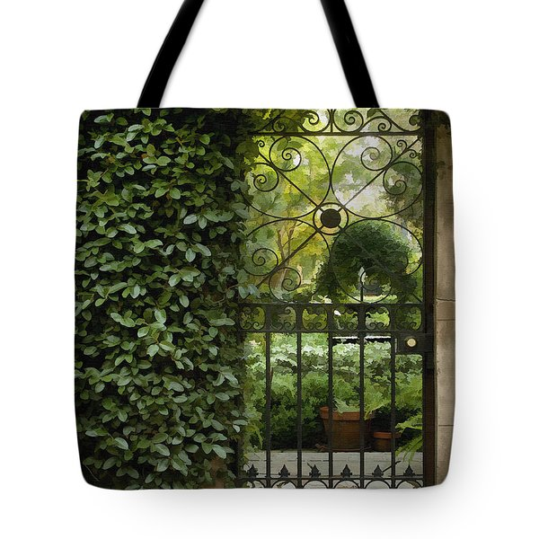 Savannah Gate Tote Bag