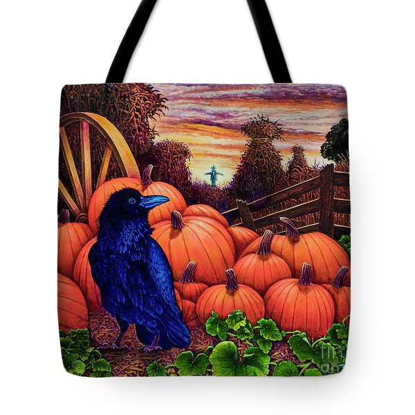 Scarecrow Tote Bag by Michael Frank