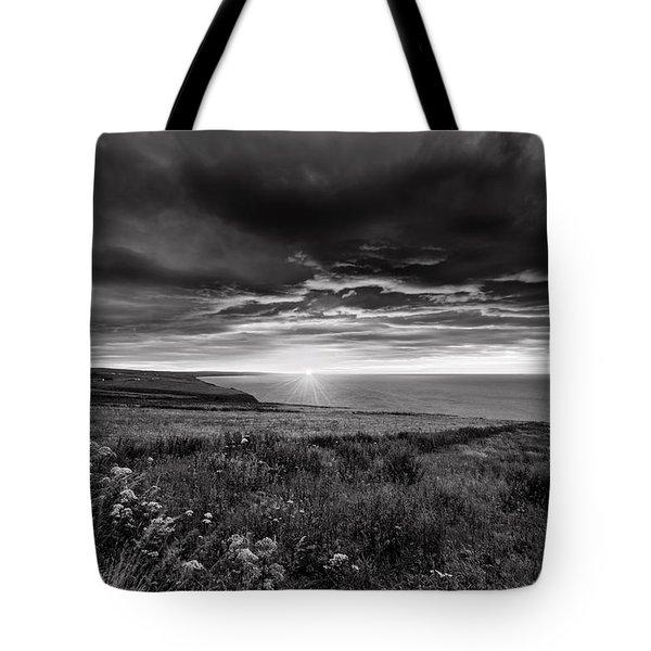 Scottish Sunrise Tote Bag by Jeremy Lavender Photography