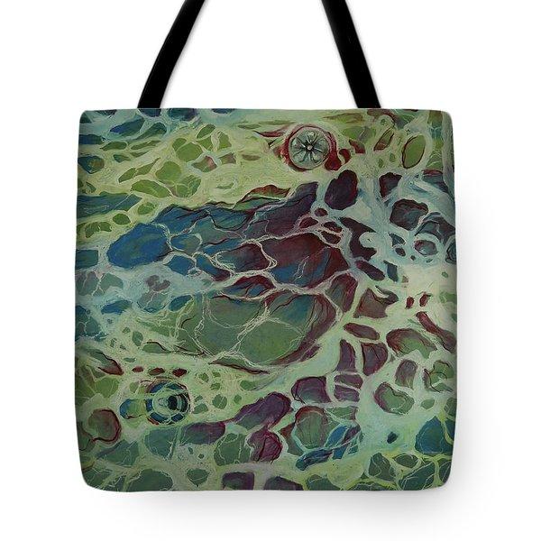 Sea Foam Tote Bag