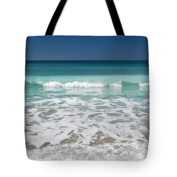 Sea Foam Production Tote Bag