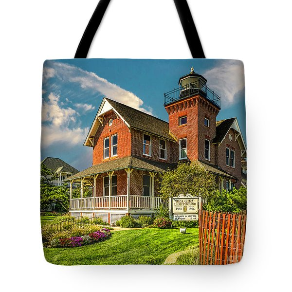 Sea Girt Lighthouse Tote Bag