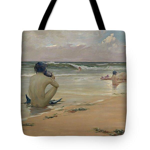 Sea Idyll Tote Bag