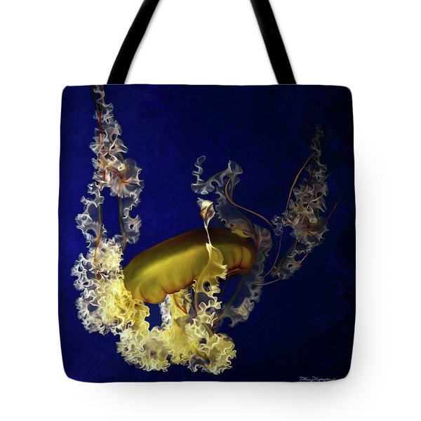 Sea Nettle Jellies Tote Bag