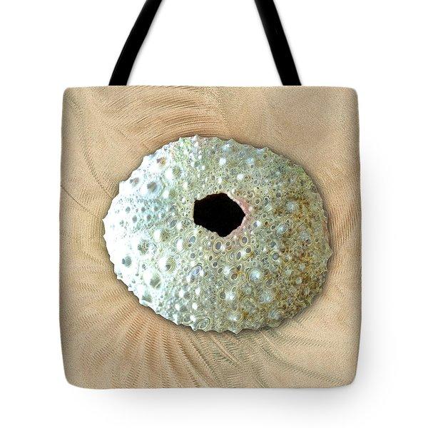 Tote Bag featuring the photograph Sea Urchin by Anastasiya Malakhova
