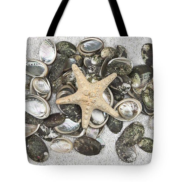 Seashells Tote Bag by Joana Kruse