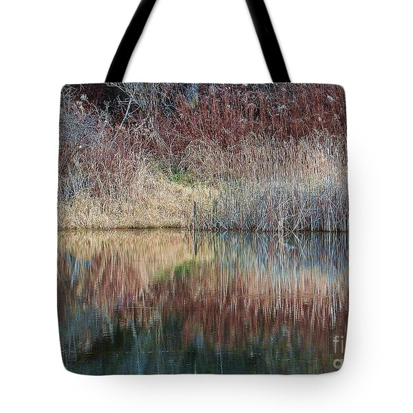 Tote Bag featuring the photograph Seasons Edge by Christian Mattison