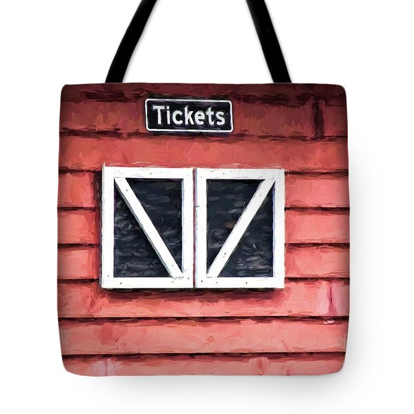 Season's Over Tote Bag by Laurinda Bowling