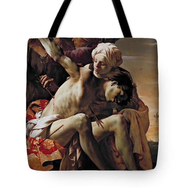 Sebastian Tended By Irene Tote Bag