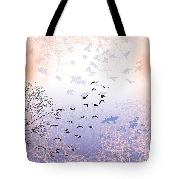 Seekers Tote Bag by Trilby Cole