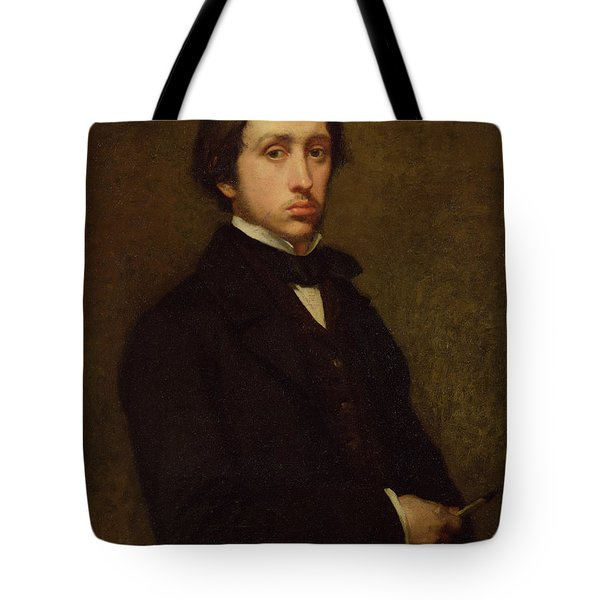 Self Portrait Tote Bag by Edgar Degas