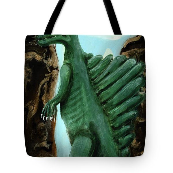 Tote Bag featuring the painting Self-portrait- Meme by Ryan Demaree