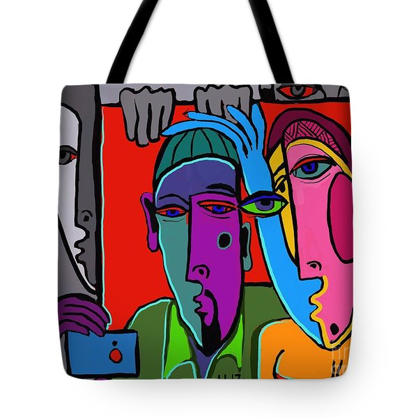 Selfie Tote Bag by Hans Magden
