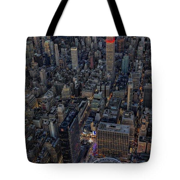 September 11 Nyc Tribute Tote Bag